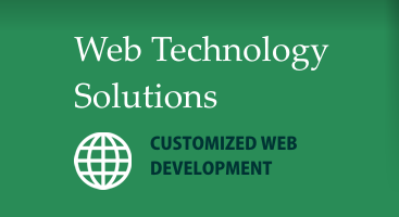 Web Technology Solutions - Customized Web Development